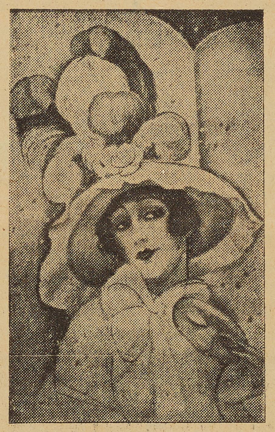 """""""Karneval"""", malet af Gerda                                 Wegener."""