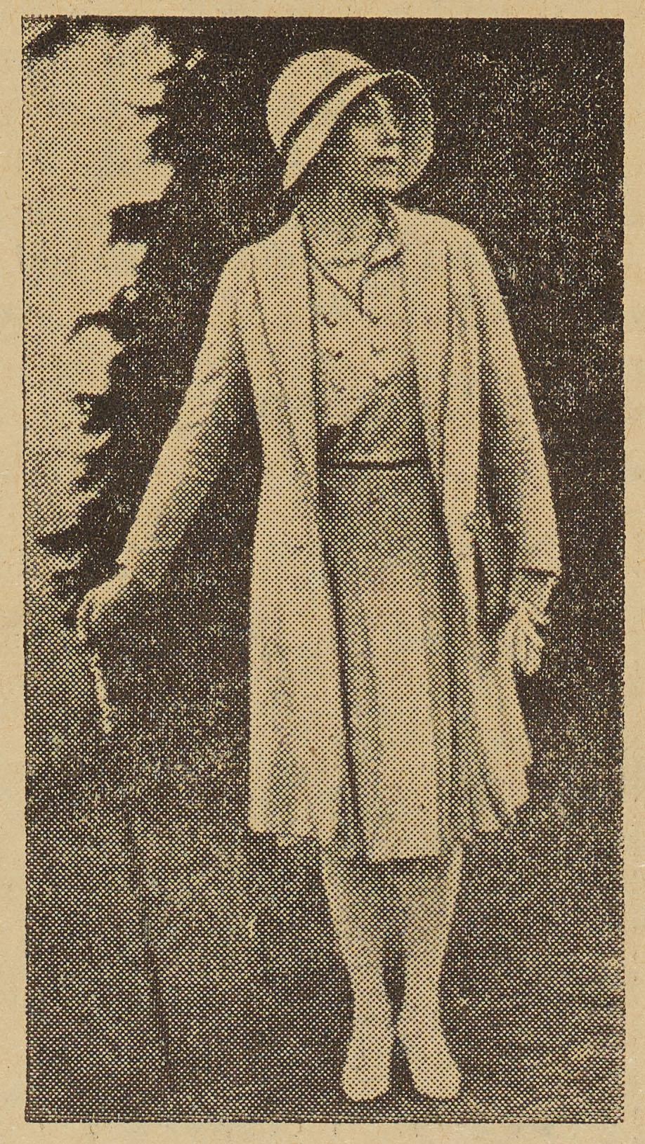 Lili Elbe, fotograferet paa                                 Frauenklinik i Dresden.