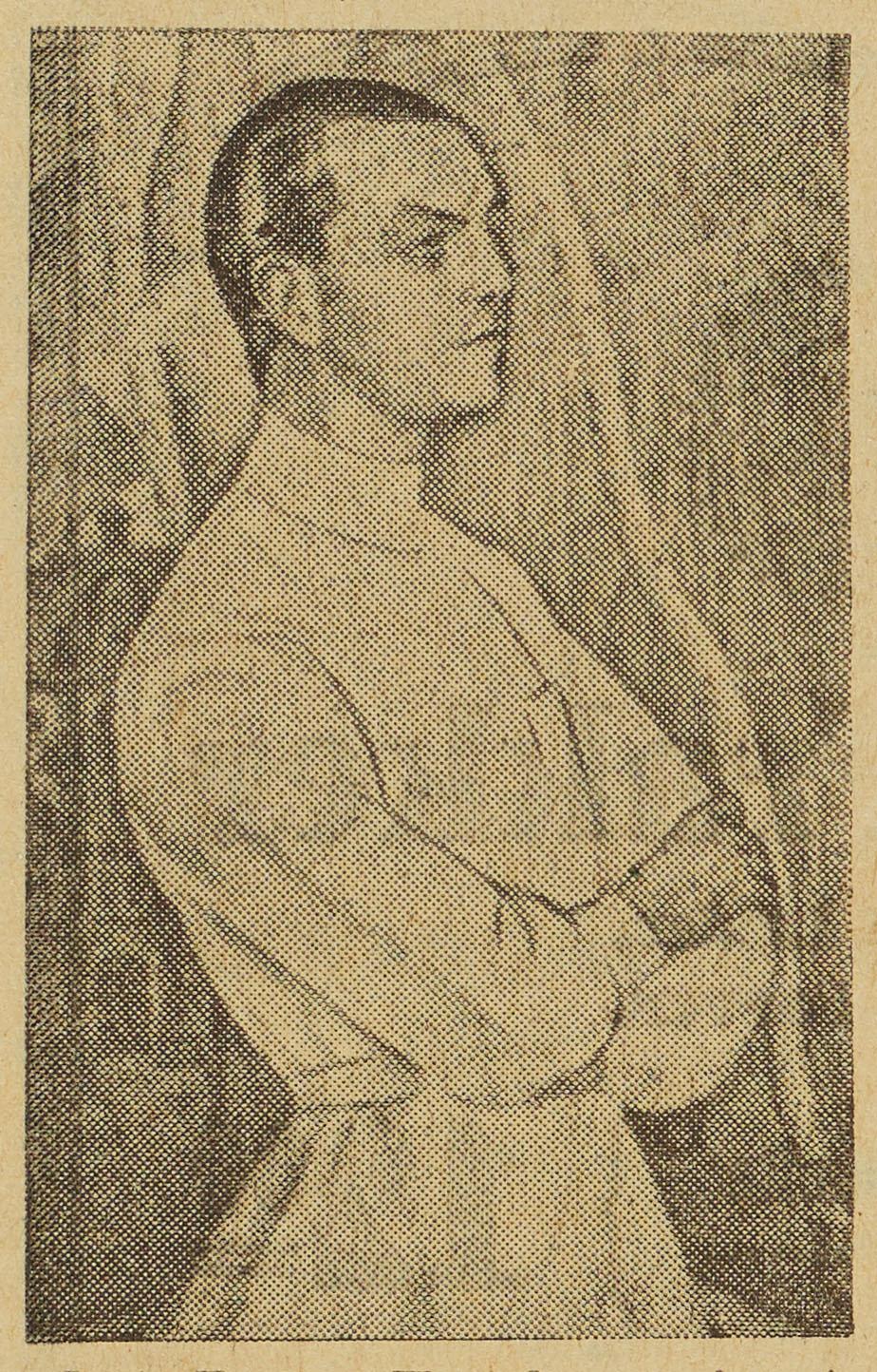 Prof. Kurt v. Warnekros, malet                             af Gerda Wegener.